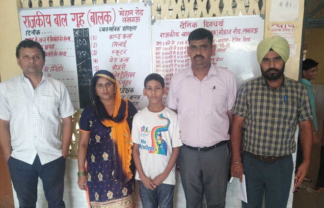 Missing Panipat boy reunited with family