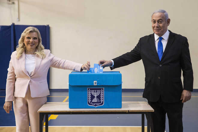 Israelis vote, second election in 5 months