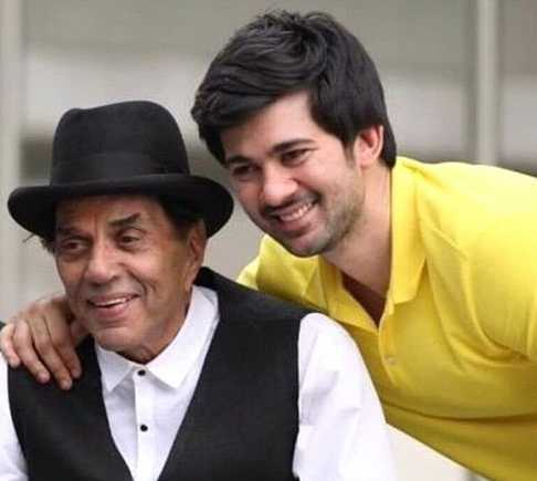 Dharmendra shares photo of grandson Karan Deol skating, internet is in love