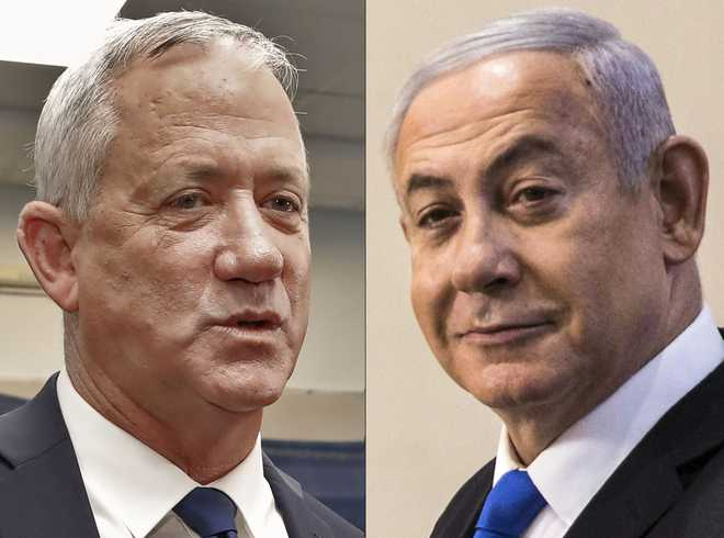 Israel election: Netanyahu, rival tied as majority votes counted