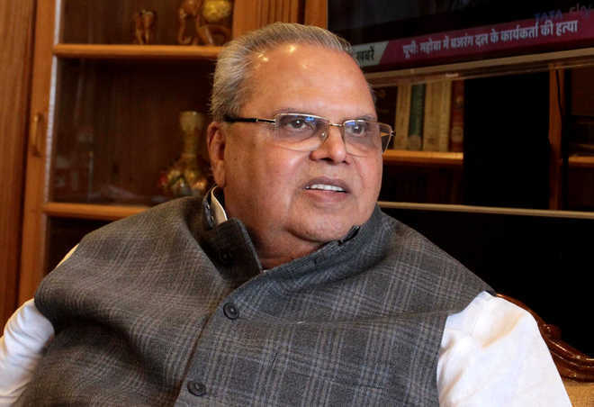 No force needed, development in J-K will prompt PoK people to join India: Guv Malik