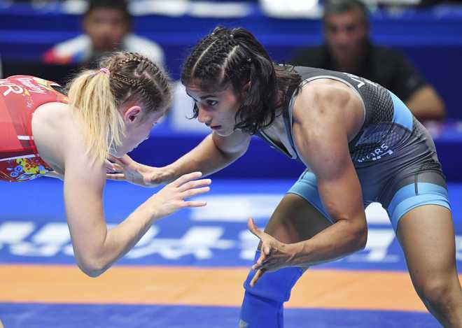 Vinesh Phogat qualifies for Tokyo Olympics with bronze at Worlds