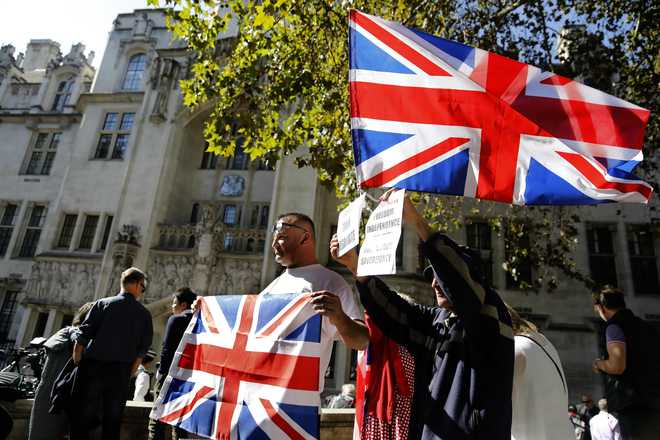 UK government insists suspension of Parliament was not illegal