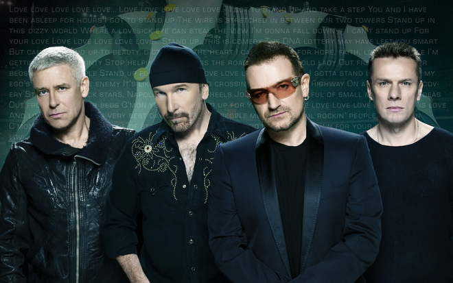 U2 set to perfom in India