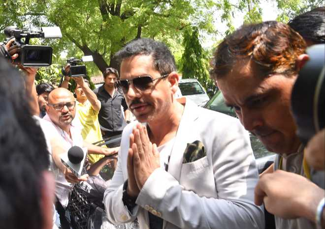 ''Process of cancelling land rights granted to Vadra's firm started''