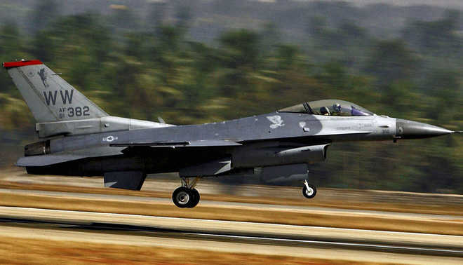 Belgian fighter jet crashes in France, pilot hits power line