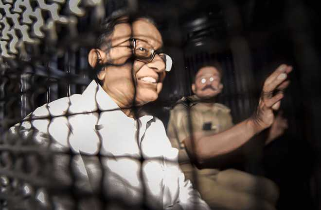 Court extends PC's judicial custody till Oct 3 in INX case