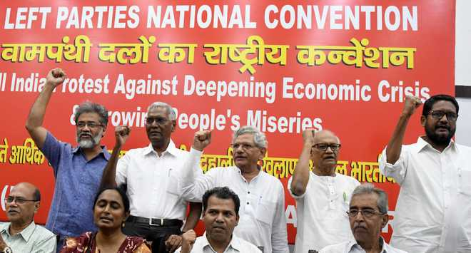 Left calls national convention to discuss Centre's economic policy, slowdown