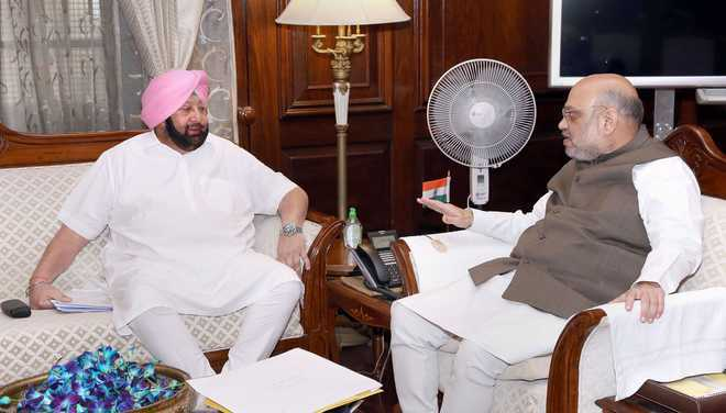 Act like elder brother on SYL: Shah to Punjab