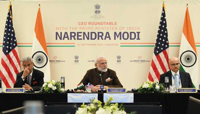 PM Modi holds meeting with energy sector CEOs in Houston