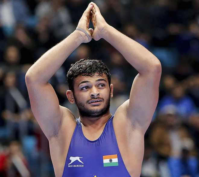 Deepak Punia pulls out of World Championships final; settles for silver
