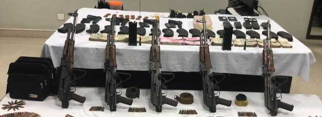 Punjab Police bust terror module as 4 arrested with AK-47s