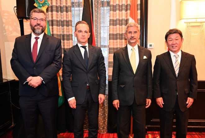 G4 push UNGA for early reforms