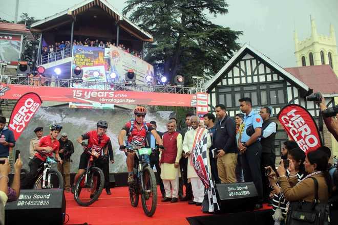 Governor flags off MTB Himalaya biking rally