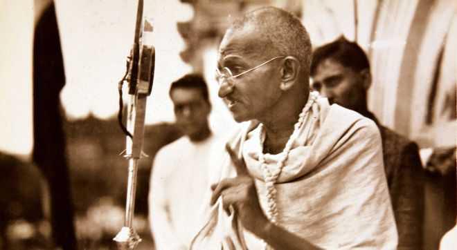 Gibbeting Gandhi