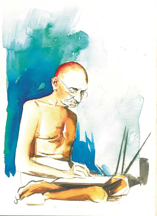 If Bapu lived in our times