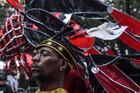A man participates in the annual West Indies Day parade in the borough of Brooklyn in New York City, on September 2, 2019. — Reuters