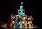 Dancers of Chinas Peacock Contemporary Dance Company perform Yang Lipings Rite of Spring during the International Contemporary Dance Festival DANCEINVERSION on the stage of Bolshoi Theatre in Moscow, Russia on September 10, 2019. — Reuters