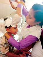 Four students injured as school van overturns