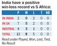 With 2020 on mind, India take on SA