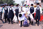 Post Sodal Mela, students organise cleanliness drive