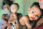 One in three Indian kids underweight