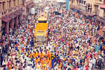Darshan of Guru Nanak's 'padukas' in Mumbai on Monday